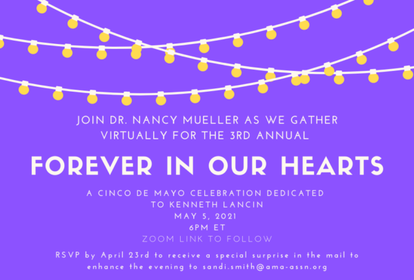 Forever in Our Hearts Invite
